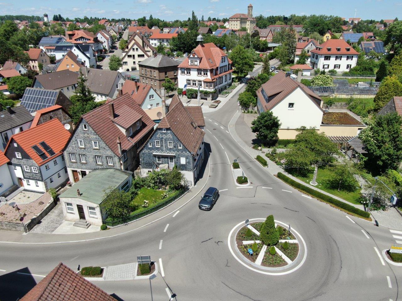 Luftbild von Gerabronn
