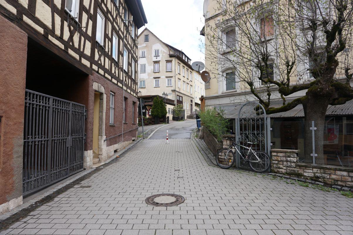 Straße Hinterm Bild