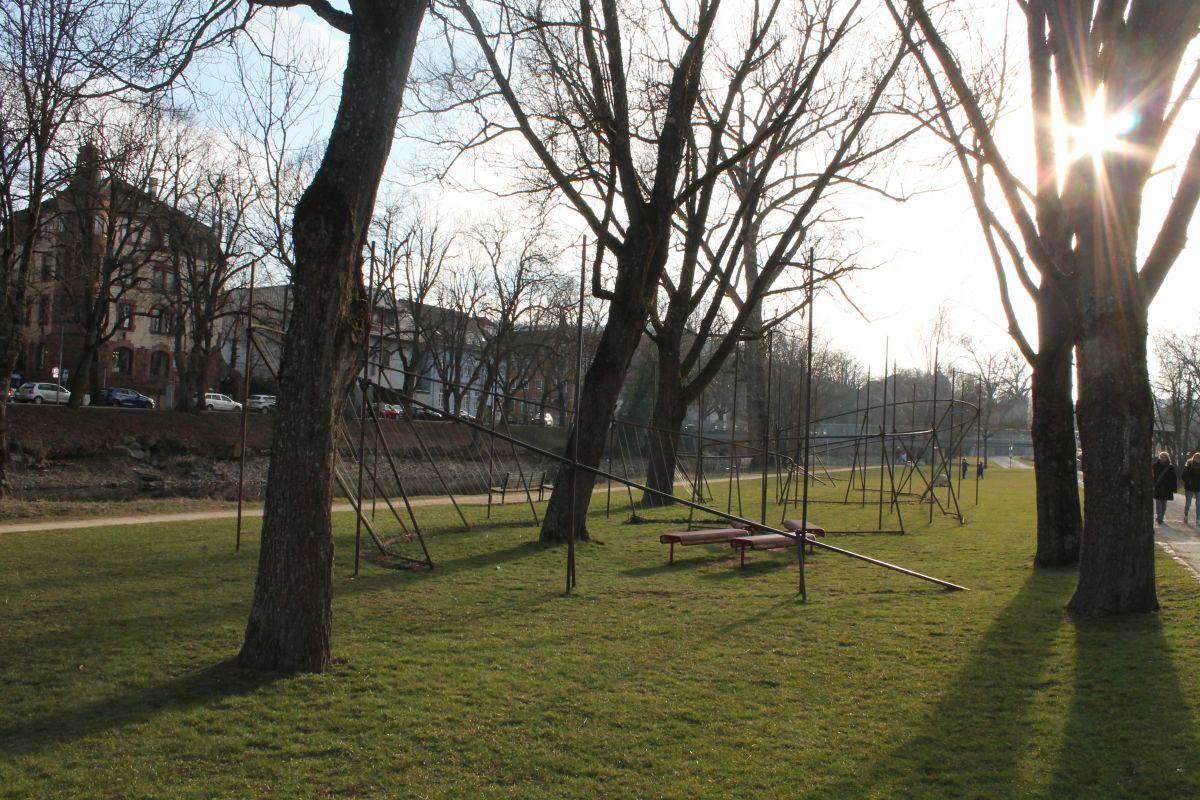 Freiflächen am Donauufer