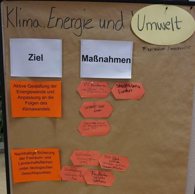 Energie, Klima und Umwelt (Plakat 1)