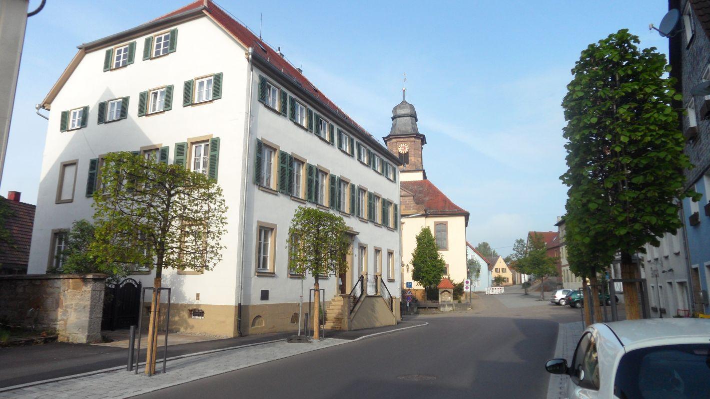 Gerabronn Stadtmitte Oberamt