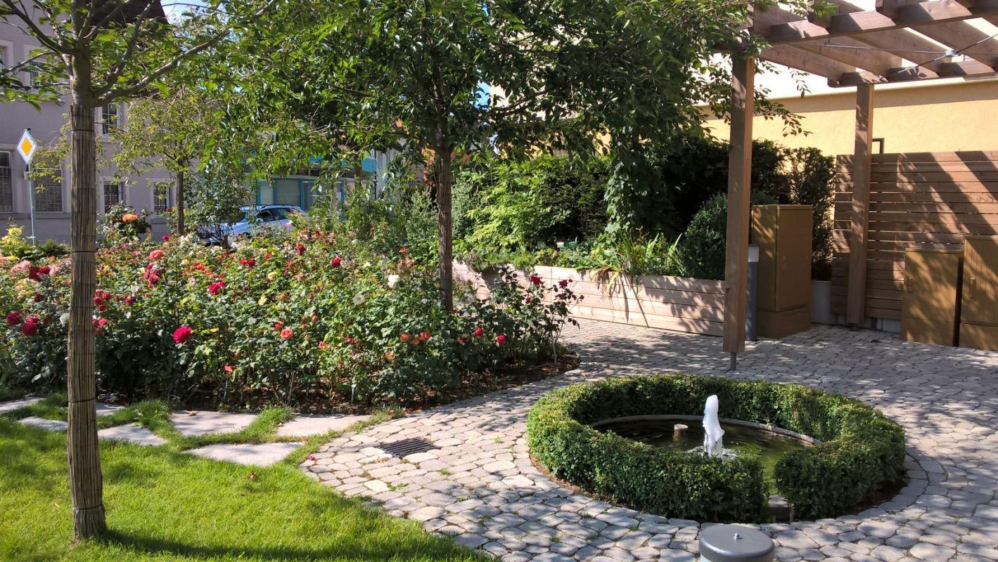 Gerabronn Stadtmitte Stadtgarten