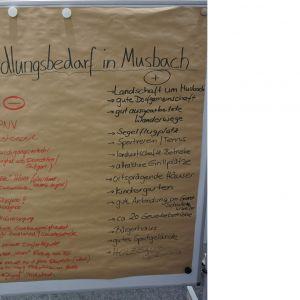 Handlungsbedarf in Musbach