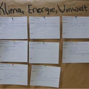 Energie, Klima und Umwelt (Plakat 3)