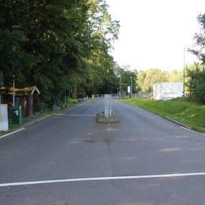 Punkt 1 Kurzzeitparkplatz P1 und Eingang