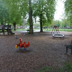 Spielgeräte im Stadtgarten