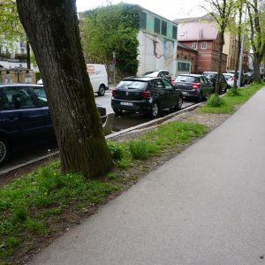 Parkierung an der Weimarstraße