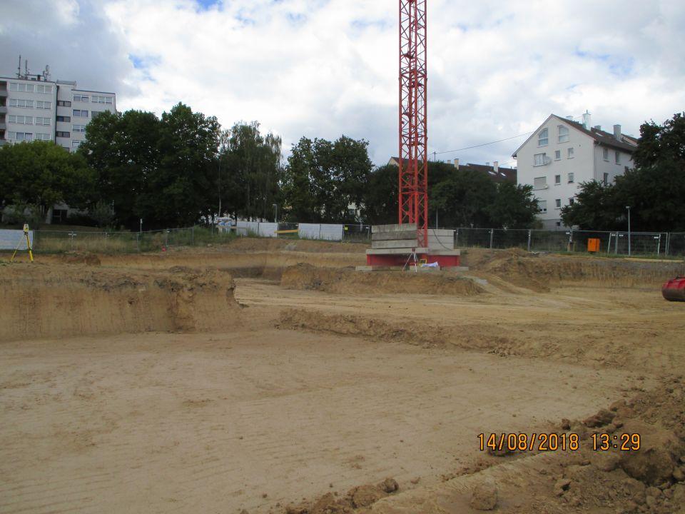Baugrube Muldenäcker