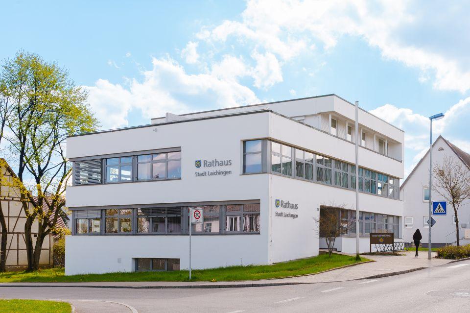 Rathaus von Laichingen