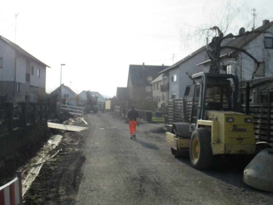 Straßengestaltung in Dürnau