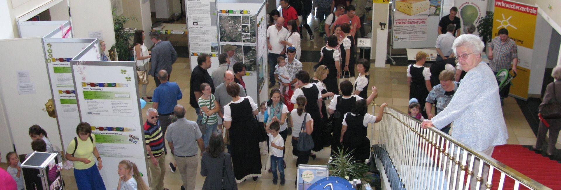 Stände auf der Bürgermesse