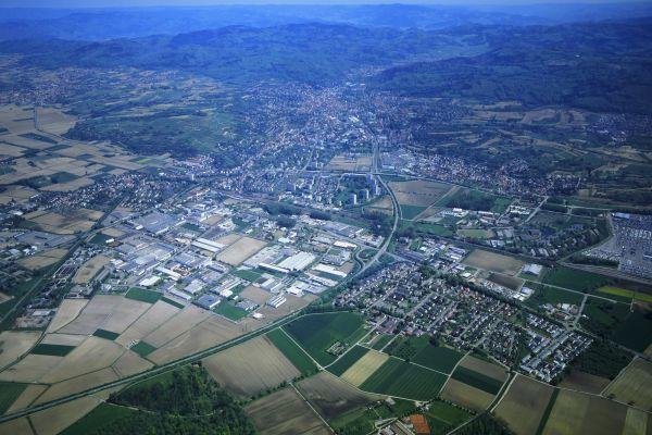 Luftbild Lahr