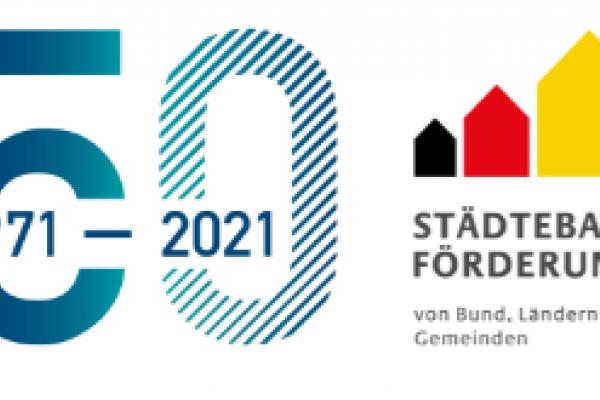 Logo von 50 Jahre Städtebauförderung
