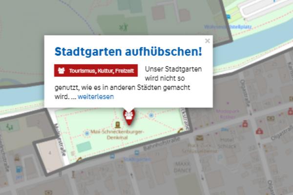 Beteiligung am Crowdmapping