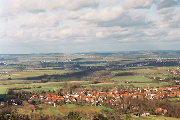 Luftbild von Dürnau