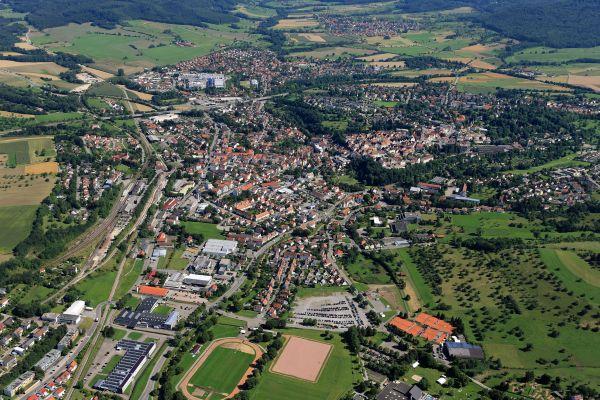 Luftbild Hechingen