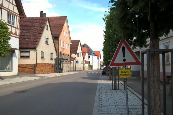 Umgestaltung der Hauptstraße